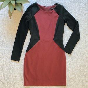 BANANA REPUBLIC   Maroon Dress